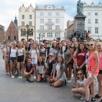 Uczestnicy kursu językowego