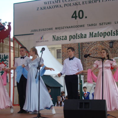 """Zespół taneczny """"Koroliski"""""""