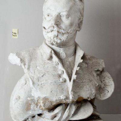 Antoni Popiel, Popiersie Jana Styki