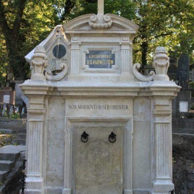 Grobowiec O.O. Karmelitów na Cmentarzu Łyczakowskim we Lwowie, stan zachowania po konserwacji