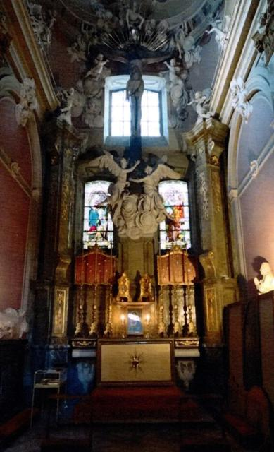 Kaplica Chrystusa Ukrzyżowanego po konserwacji