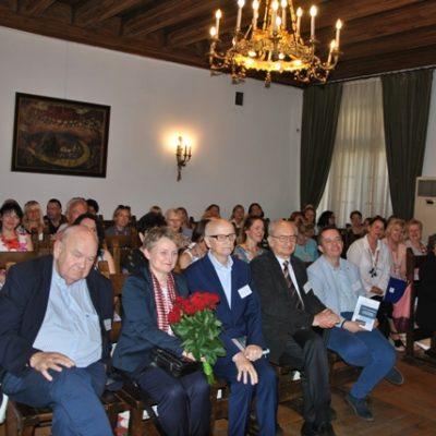 Inauguracja warsztatów,  od lewej: prof. Z. Kolenda, dr hab. I. Janowska, prof. W. Miodunka, prof. J. Zdrada