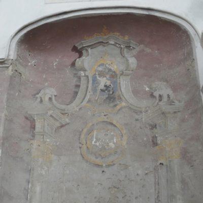 ołtarz św. Franciszka przed konserwacją