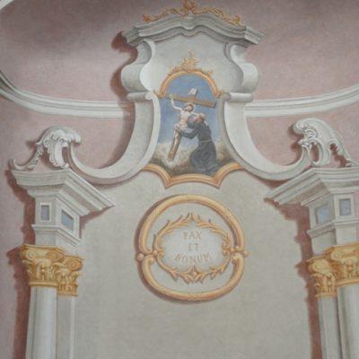 ołtarz św. Franciszka po konserwacji