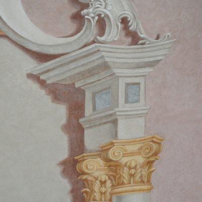 detal ołtarza po konserwacji